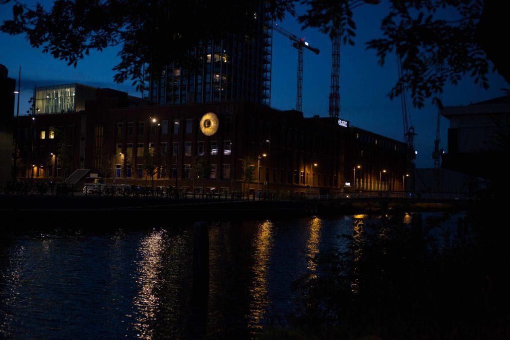 OOG Amsterdam nacht